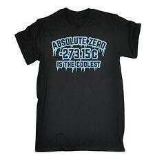 Cero absoluto es el mejor T-Shirt ciencia nerd geek Top Regalo Padres Día