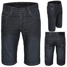 Stylische Herren Jeans Shorts kurze Hose Bermuda Denim Short H-066 W28-W38