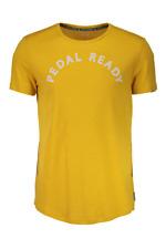 Maloja Multi Camiseta deportiva Camisa funcional Amarillo surbergm. Ajustado