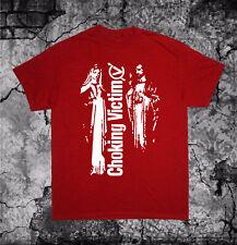 Choking Victim T Shirt Leftover Crack Subhumans Crass Amebix Citizen Fish Doom