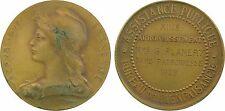 Bureau de bienfaisance, Paris XIIIe, médaille Roty dans étui armes de Paris - 80