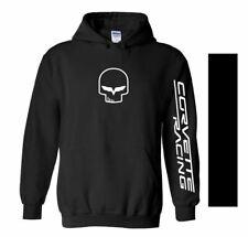 CORVETTE RACING hoodie guildan S M L 1 2 3 4 5 XL chevy v8 team JDM Jake skull