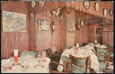Washington Dc Le Bistro Restaurant Parisien Vtg Pc