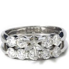 1 1/5ct Diamond Engagement Ring Bridal Set Setting Mounting