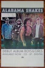 ALABAMA SHAKES Boys & Girls Ltd Ed Discontinued New RARE Poster +FREE Poster