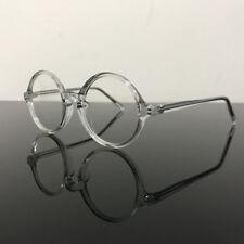 Vintage Round Eyeglass Frames Full Rim Acetate unisex Glasses myopia Rx able