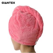 Giantex Women Bathroom Super Absorbent Quick-Drying Microfiber Bath Towel Hair D