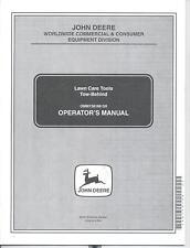 John Deere Thatcherator Lawn Roller Plug Aerator Spreader Operators Manual