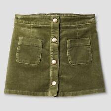 Toddler Infant Girls' Pioneer Sage Green Mini Skirt OshKosh, 12M 18M 3T 6 6X