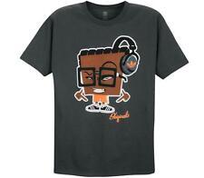 """Adidas Originals """"Blockhead"""" T-Shirt Charcoal Men's Medium Large XL 2XL 3XL BNWT"""