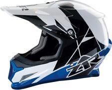 Z1R Rise Motorcycle MX ATV Helmet - Blue - All Sizes