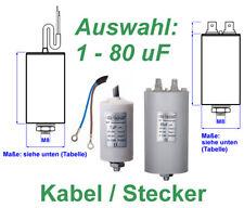 Kondensator Anlaufkondensator Motorkondensator Arbeitskondensator 1µF-80µF 450V