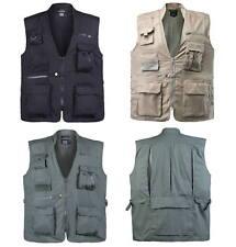 Mens Concealed Tactical Vest Safari Explorer Travel Fishing Hunting Camping Vest