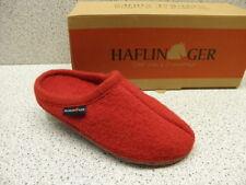 """Haflinger ® reduziert ab 35,-  €  """" Walktoffel Alaska """" rot  (H17)"""