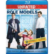 Role Models (Blu-ray Disc, 2009) SCOTT RUDD MINTZ-PLASSE LYNCH - BRAND NEW