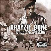 Krayzie Bone: Thug on da Line Explicit Lyrics Audio CD