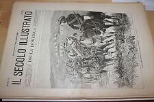 [BTR]IL SECOLO ILLUSTRATO DELLA DOMENICA 1899 512 ARTIGLIERIA BOREA GLENCOE