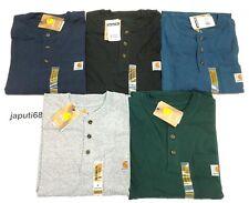 Carhartt K84 Workwear Henley Pocket T-Shirt [J1-84] Free shipping
