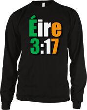 Eire 3:17 Irish Flag Colors Gaelic Country Ireland Heritage Irl Ie Men's Thermal