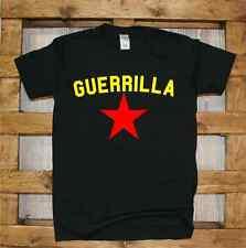 Maglia J361 Guerrilla Resistenza Noglobal Rebel ACTIVIST T-shirt stella rossa
