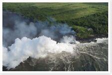 Lava Ocean Entry Kilauea Volcano Hawaii 2018 Silver Halide Photo