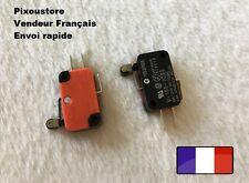 Microswitch OMRON Type KW7 microswitch. 2,5 ou 10.  7-32