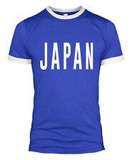 Japan Text T Shirt Slogan Retro Jersey Kit Top Men Man Lady Support World L254