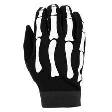 Airsoft Bike mechanic gloves with bones L M XL