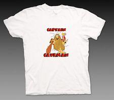 Captain Caveman Cartoon Retro Graphic T Shirt