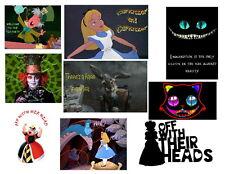 Iron on Transfers - Alice in Wonderland