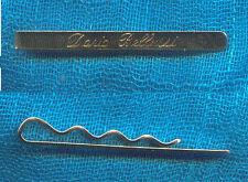 ferma cravatta personalizzato col tuo nome    ARTIGIANALI made in italy