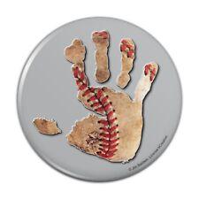 Hand Print Baseball Get a Grip Compact Pocket Purse Hand Cosmetic Makeup Mirror