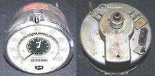 Kienzle LKW Tachometer Tachograph Fahrtenschreiber mit Uhr Original selten