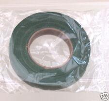 2 Reels of Dark Green Floral Tape Save on Postage