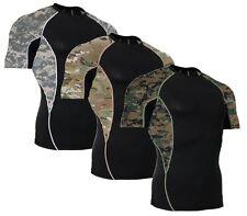 Digicam Short Sleeve Side Panel Rash Guard