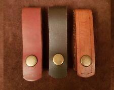 Handmade Leather Belt Loop Dangler for Mora & Bush Craft Knives Camping Fishing