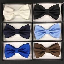 Variation of 6 color of Bow Tie Tuxedo Wedding Formal Men's Accessories