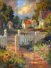 Ceramic Tile Mural Kitchen Backsplash Songer Country Life Landscape RW-SSA002