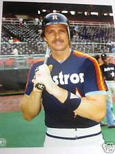 ALAN ASHBY Signed/Auto.Houston Astros Baseball Photo