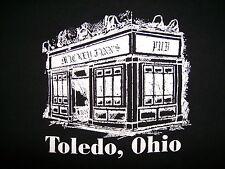 MICKEY FINN'S PUB T SHIRT North Toledo Ohio Irish Bar Concert Venue ADULT SMALL