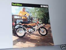 1975 Honda ST90 K2 TRAIL BIKE Motorcycle Sales Brochure - Literature