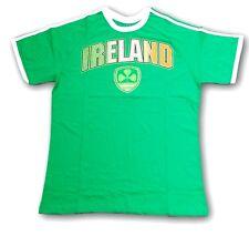New IRELAND Shamrock Shirt St Patrick's Day Lucky New Tee