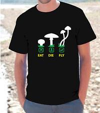 T-shirt maglietta S - M - L -XL FUNGHETTI GANJA ALLUCINOGENO Peyote hallucinogen