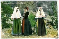 CARTOLINA d'Epoca: COSTUMI SICILIANI - PIANA dei GRECI