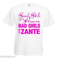 Bad Girls Zante Hen Party Adults T Shirt