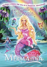 Barbie - Fairytopia: Mermaidia (DVD, 2006, Canadian) GOOD