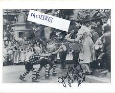 "Jerry Maren The Wizard of Oz ""Lollipop Kid"" Autographed Signed 8x10 Photo COA"