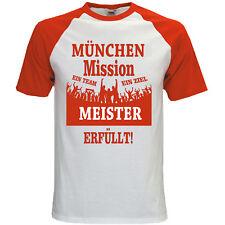Deutscher Meister Bundesliga München T-Shirt Fussball Fanshirt Funshirt S-3XL