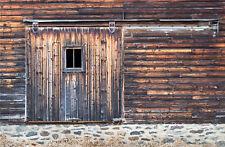 Indoor Photography Backdrop Studio Photo Rustic Wood Boards Barn Door Background