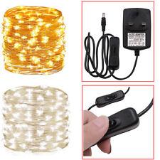 10/20/30M Fairy Lights Plug-in LED String Wedding Party Garden Christmas Decor